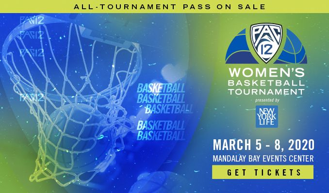 Pac-12 Women's Basketball Tournament - All Tournament Pass tickets at Mandalay Bay Events Center in Las Vegas
