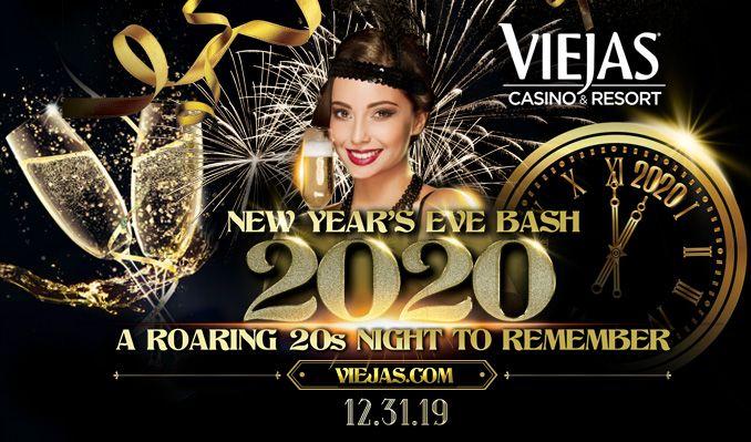 New Year's Eve Bash 2020: Gatsby's Extravaganza tickets at Viejas Casino & Resort Oak Ballroom in Alpine