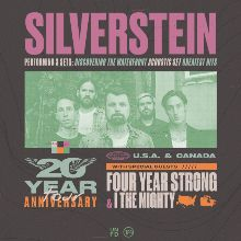 Silverstein tickets at Rams Head Live!, Baltimore