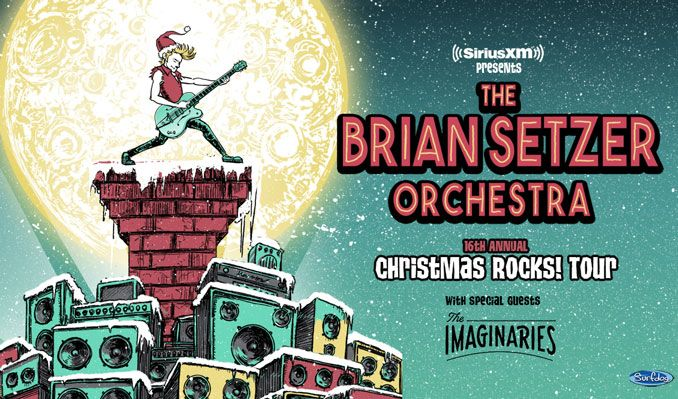 Siriusxm Christmas 2019.The Brian Setzer Orchestra Tickets In Los Angeles At