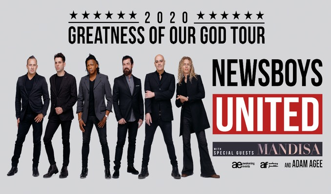 Newsboys Tour 2020.Newsboys United Tickets In Grand Prairie At The Theatre At