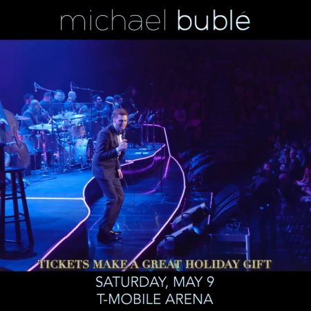 An Evening With Michael Bublé tour expands into 2020 with stop at T-Mobile Arena