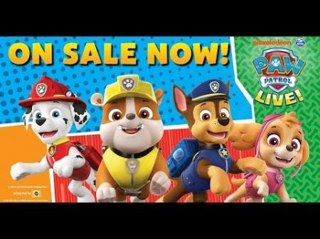 PAW Patrol Live! Race to the Rescue tickets announced at Bert Ogden Arena in 2020