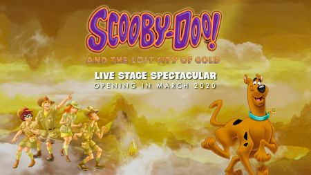 Scooby-Doo! And The Lost City Of Gold announces 2020 live shows