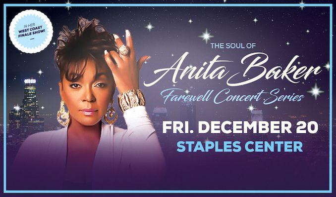 Anita Baker tickets at STAPLES Center in Los Angeles