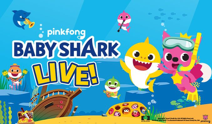 Baby Shark Live! tickets at Microsoft Theater in Los Angeles