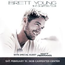 Brett Young tickets at Bob Carpenter Center - University of Delaware in Newark