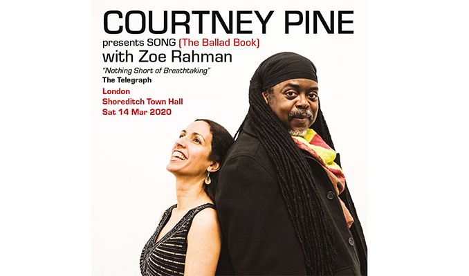 Courtney Pine with Zoe Rahman tickets at Shoreditch Town Hall in London