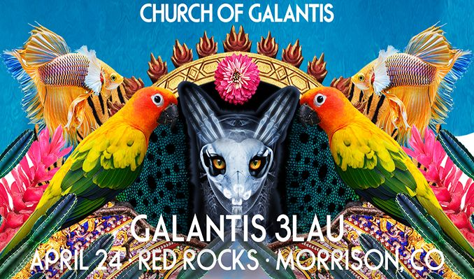 Galantis and 3LAU tickets at Red Rocks Amphitheatre in Morrison