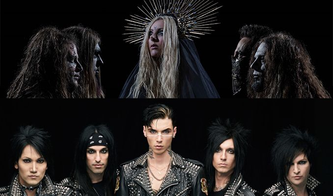 In This Moment and Black Veil Brides tickets at The Warfield in San Francisco