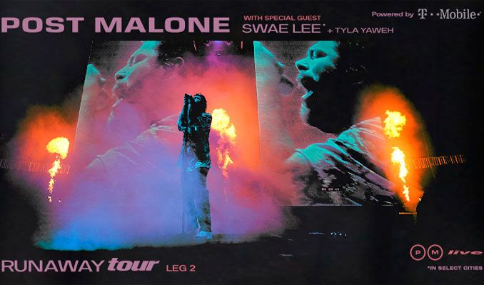 Post Malone - Runaway Tour tickets at MGM Grand Garden Arena in Las Vegas