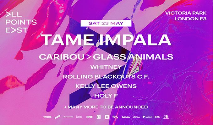 Tame Impala tickets at Victoria Park in London