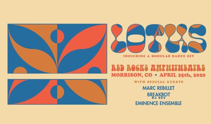 Lotus - CANCELLED tickets at Red Rocks Amphitheatre in Morrison