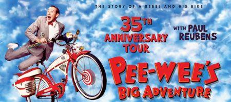 Paul Reubens to headline US tour celebrating 35th anniversary of 'Pee-wee's Big Adventure'