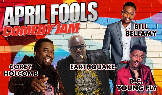 April Fools - Corey Holcomb and Earthquake  tickets at Arvest Bank Theatre at The Midland in Kansas City