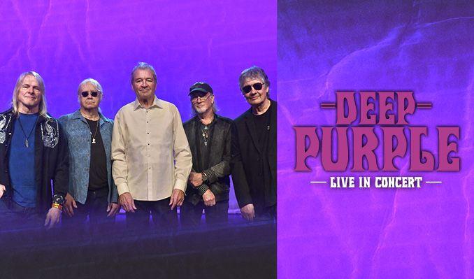 Deep Purple - NYTT DATUM tickets at HOVET/Stockholm Live in Stockholm
