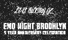 Emo Night Brooklyn: 5 Year Anniversary Celebration tickets at Webster Hall in New York