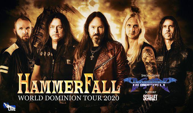 Hammerfall - FRAMFLYTTAD! tickets at ANNEXET/Stockholm Live in Stockholm