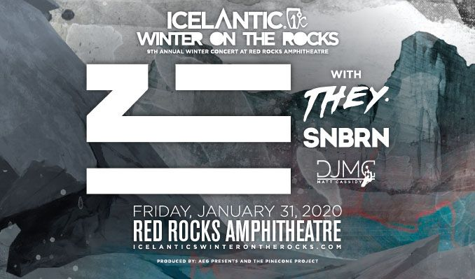 Icelantic's Winter on the Rocks ft. ZHU tickets at Red Rocks Amphitheatre in Morrison