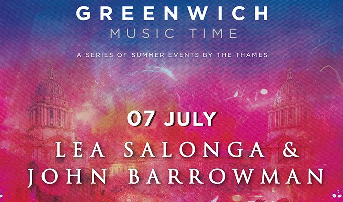 Lea Salonga and John Barrowman tickets at Old Royal Naval College in London