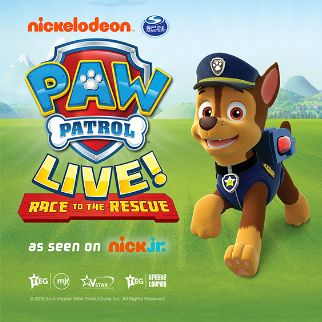 PAW Patrol Live! Race to the Rescue - RESCHEDULED