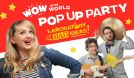Wow in the World Pop Up Party tickets at Keswick Theatre in Glenside
