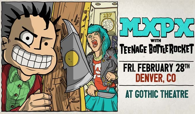 MxPx tickets at Gothic Theatre in Englewood