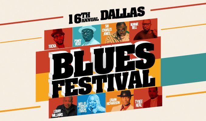 16th Annual Dallas Blues Festival tickets at The Theatre at Grand Prairie in Grand Prairie
