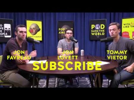 Pod Save America and Lovett or Leave It announce 2020 live dates