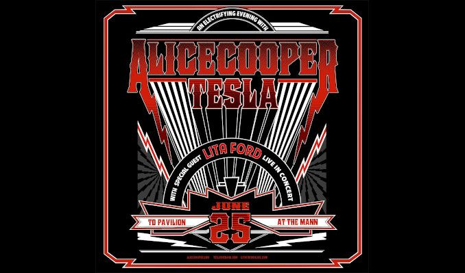 Alice Cooper tickets at TD Pavilion at the Mann in Philadelphia