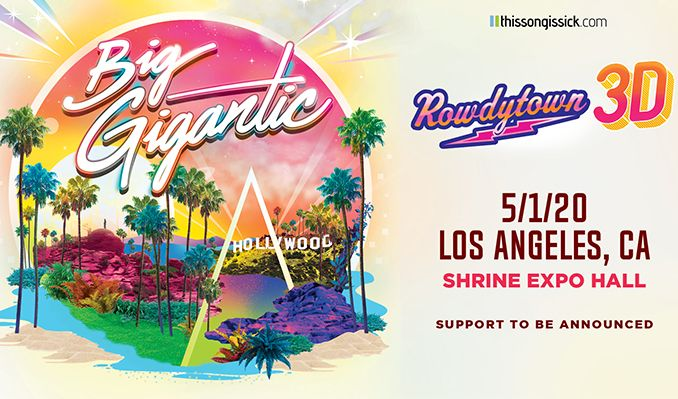 Big Gigantic - CANCELLED tickets at Shrine Expo Hall in Los Angeles
