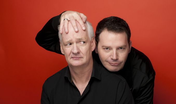 Colin Mochrie and Brad Sherwood: Scared Scriptless tickets at City National Grove of Anaheim in Anaheim