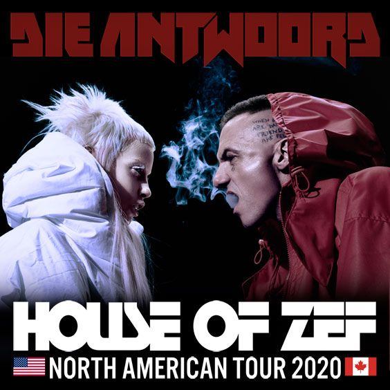 Thumbnail for Die Antwoord - House Of Zef USA Tour 2020