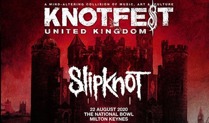 Slipknot - CANCELLED tickets at The National Bowl in Milton Keynes