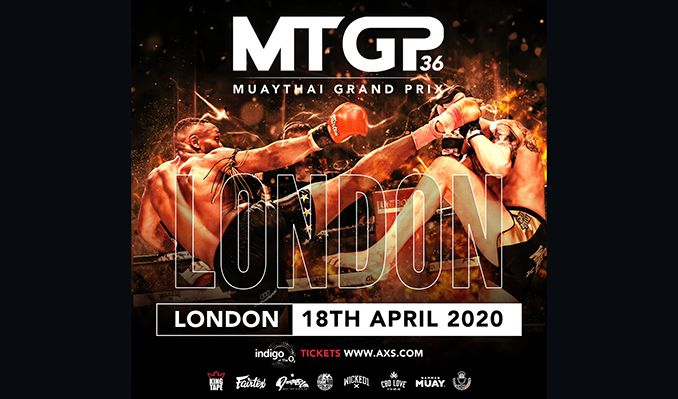 Muay Thai / Kick Boxing Grand Prix - CANCELLED tickets at indigo at The O2 in London