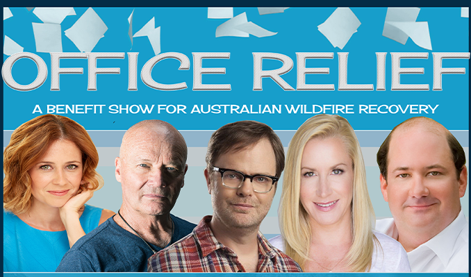 Office Relief: Benefit for Australia tickets at The Roxy in Los Angeles