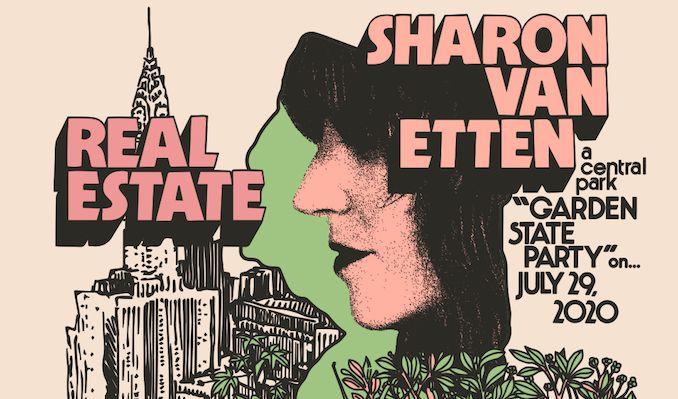 Sharon Van Etten / Real Estate  tickets at Capital One City Parks Foundation SummerStage in New York