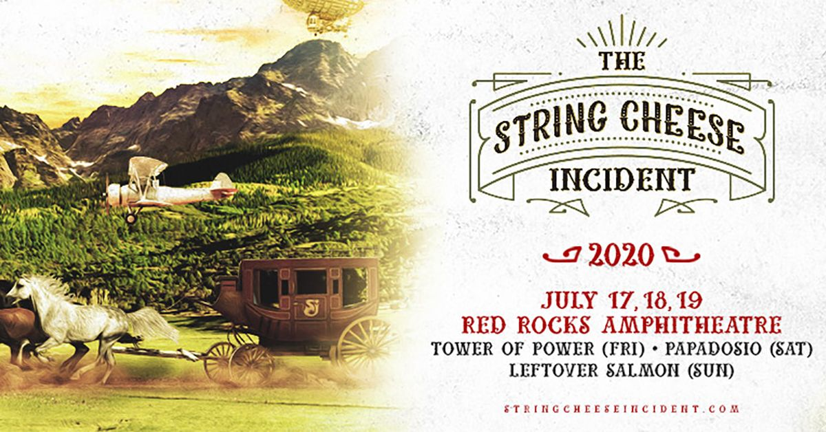 The String Cheese Incident Cancelled Denver Arts Venues