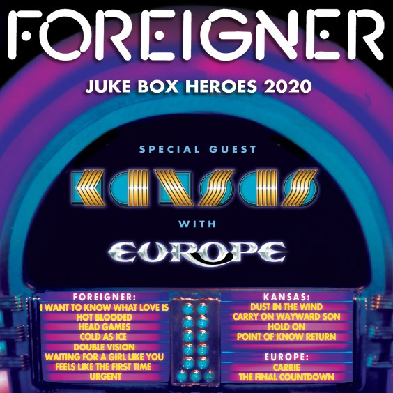 Thumbnail for Foreigner: Juke Box Hero Tour