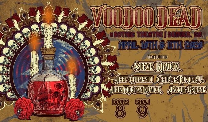 Voodoo Dead *Moved to Cervantes 10/08* tickets at Cervantes Masterpiece Ballroom in Denver