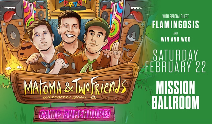 Matoma & Two Friends tickets at Mission Ballroom in Denver