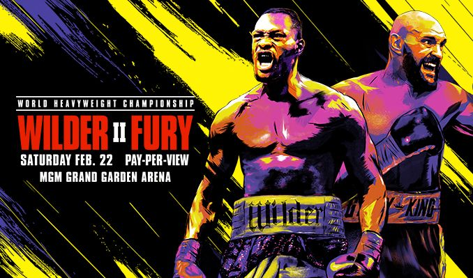 Wilder vs. Fury II tickets at MGM Grand Garden Arena in Las Vegas
