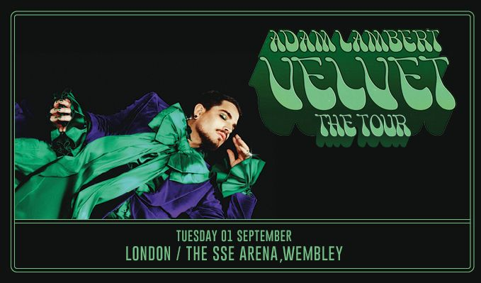 Adam Lambert - CANCELLED tickets at The SSE Arena, Wembley in London