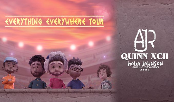 AJR with Quinn XCII - Everything Everywhere Tour tickets at Target Center in Minneapolis