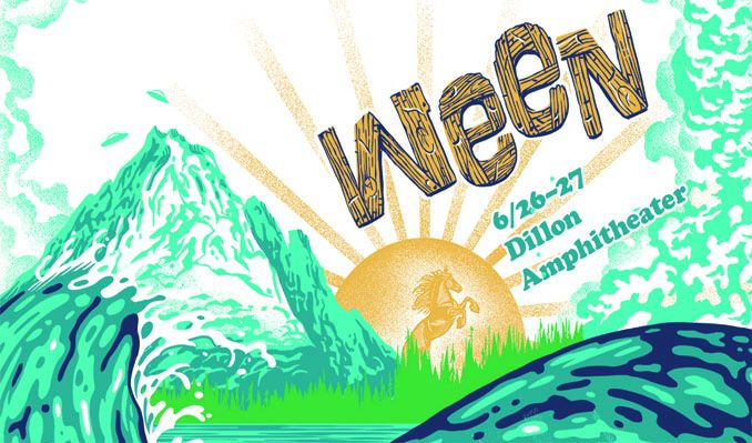 An Evening With Ween 2 DAY PASS tickets at Dillon Amphitheater in Dillon
