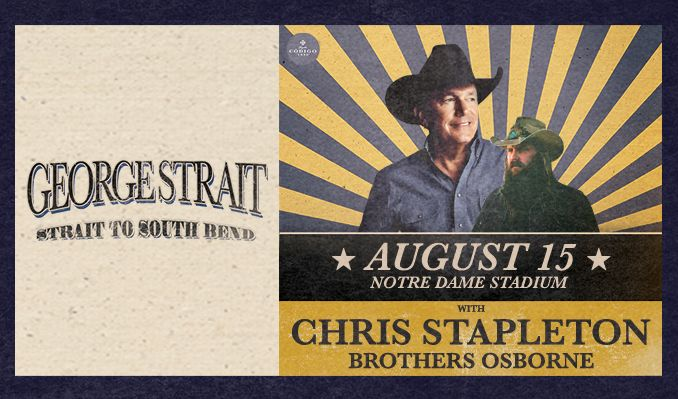 George Strait - POSTPONED tickets at Notre Dame Stadium in Notre Dame