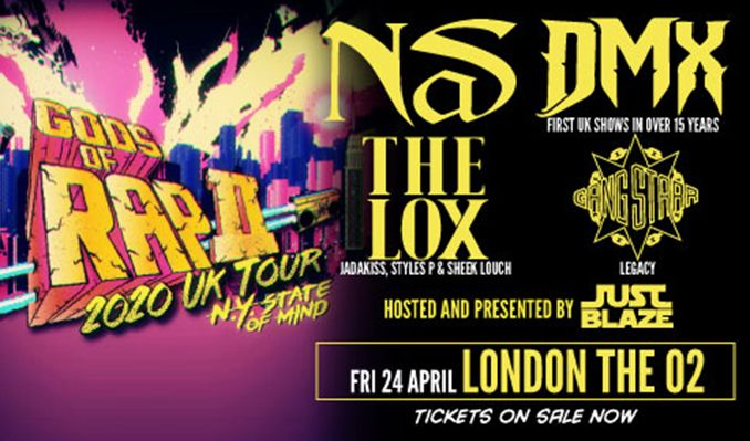 Gods of Rap II - CANCELLED tickets at The O2 in London
