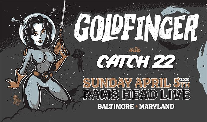 Goldfinger tickets at Rams Head Live! in Baltimore