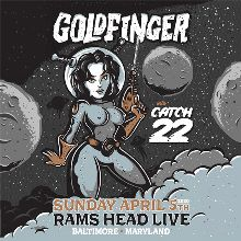 Goldfinger - POSTPONED tickets at Rams Head Live! in Baltimore
