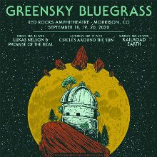 Greensky Bluegrass 3 Day Pass tickets at Red Rocks Amphitheatre in Morrison